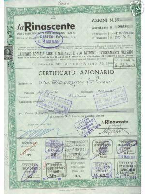 95278045a7 a) Il collezionismo di antichi titoli azionari (c.d. scripophilia) è oggi  molto in voga. Possono vedersi certificati azionari di ...