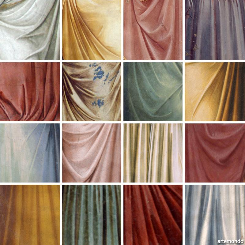 panneggi di Giotto