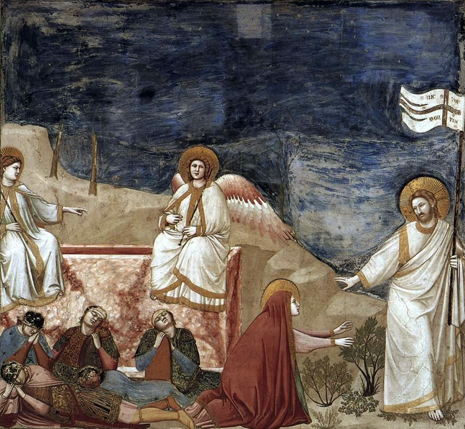 Noli me tangere, Giotto
