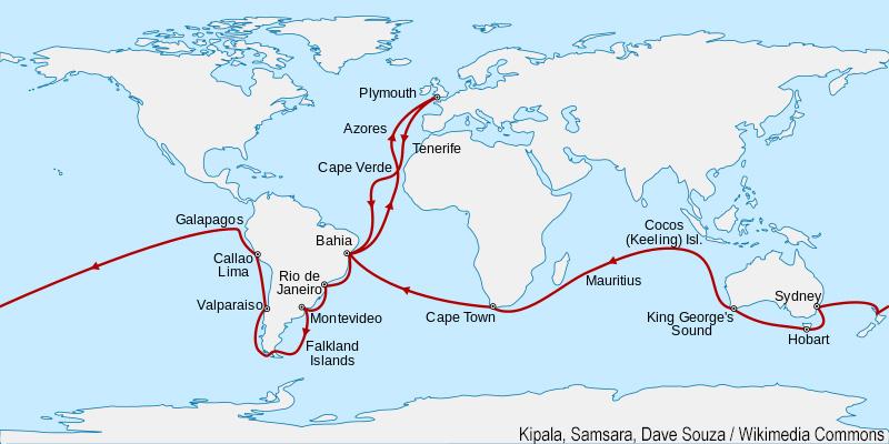viaggio di Darwin