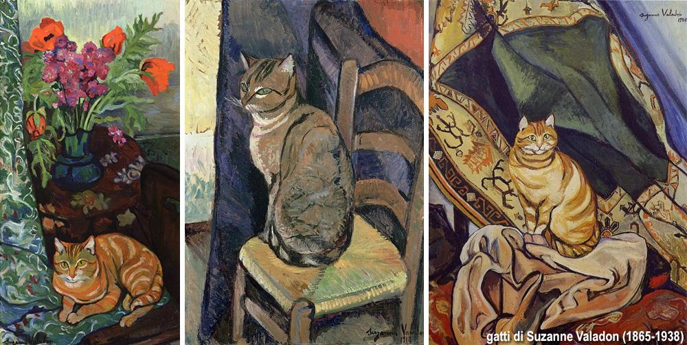 i gatti di Suzanne Valadon