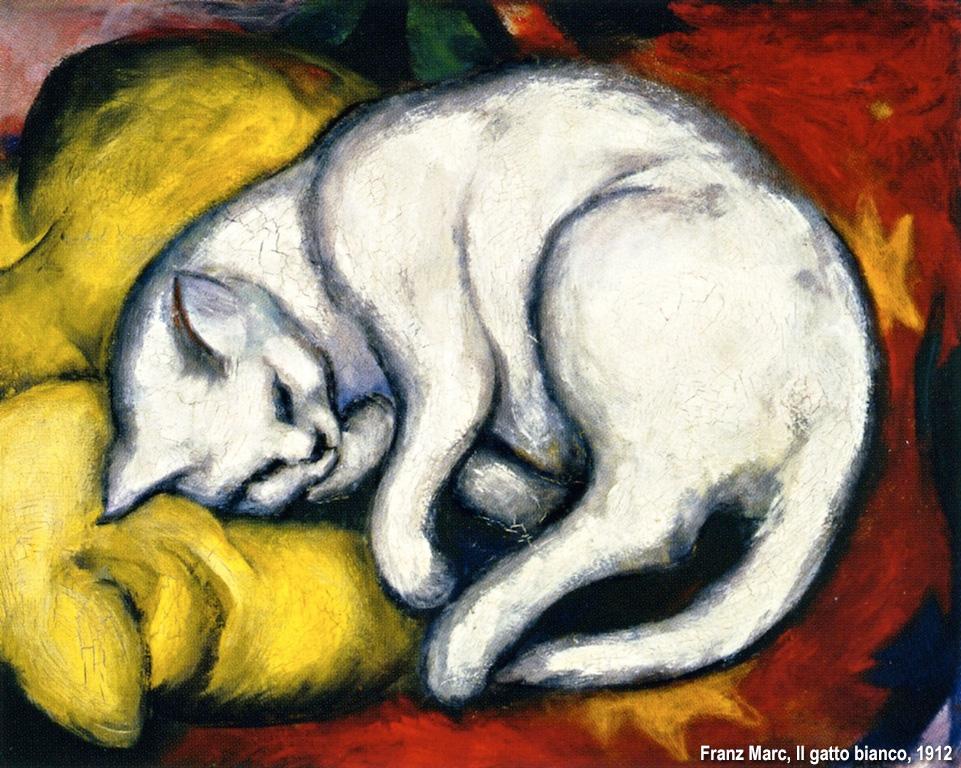 il gatto di Franz Marc
