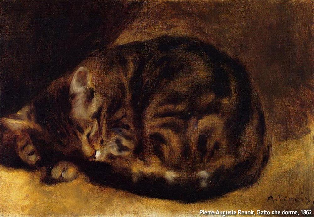 il gatto di Renoir
