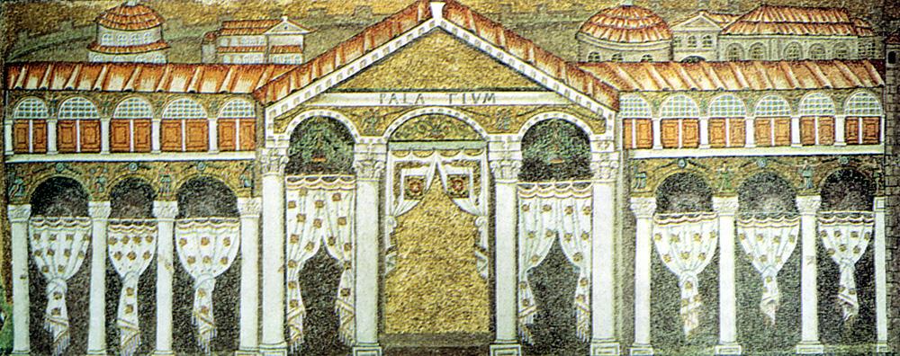 mosaico bizantino a Ravenna