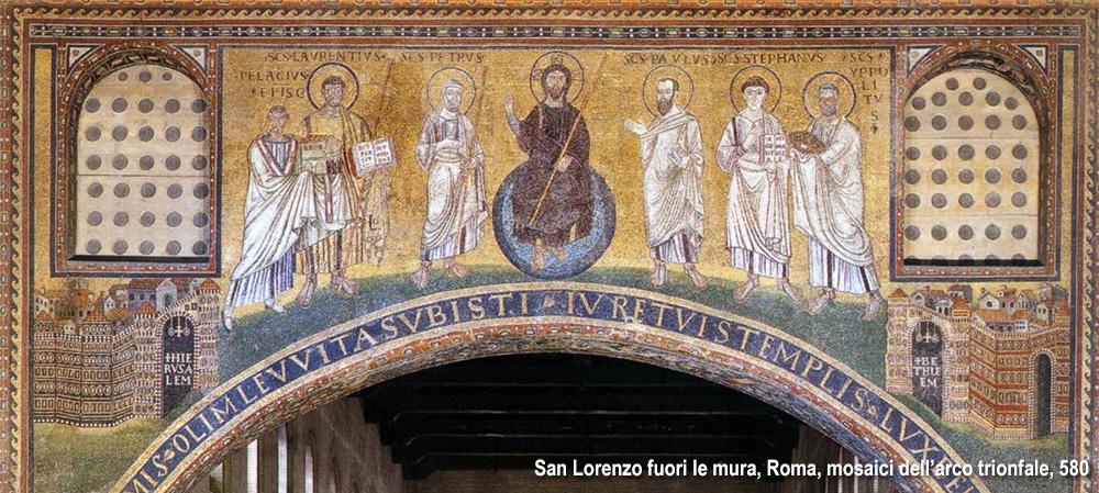 mosaico presso San Lorenzo