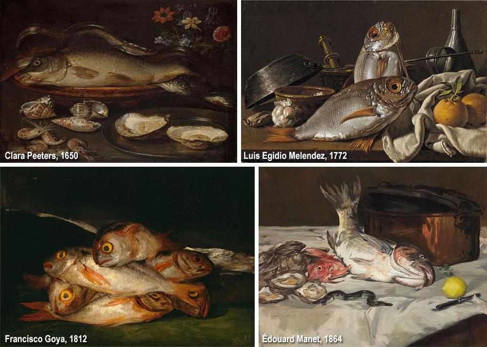 pesci nell'arte moderna