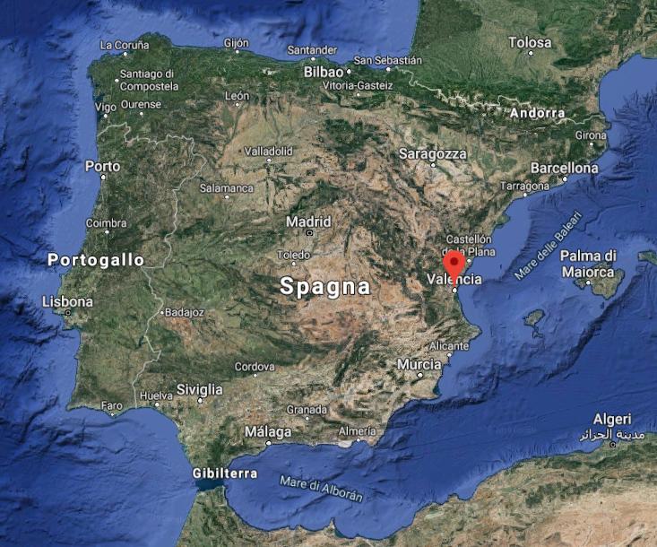 Valencia nella Spagna