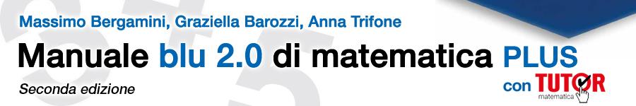 libro4 Bergamini, Barozzi, Trifone, Matematica.blu 2ed