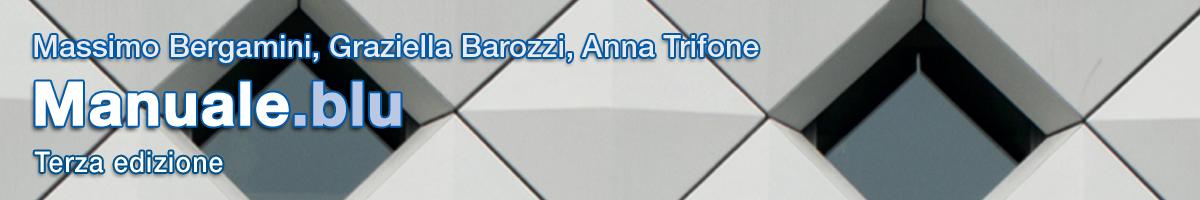 libro2 M. Bergamini, G. Barozzi, A. Trifone, Matematica.blu & Manuale.blu 2.0 di matematica (3 ed.)