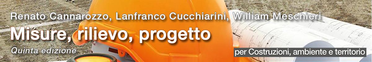 libro0 Cannarozzo, Cucchiarini, Meschieri, Misure, rilievo, progetto, 5 ed.