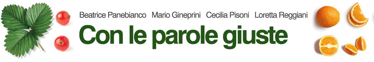 libro0 Panebianco, Pisoni, Reggiani, Gineprini, Con le parole giuste