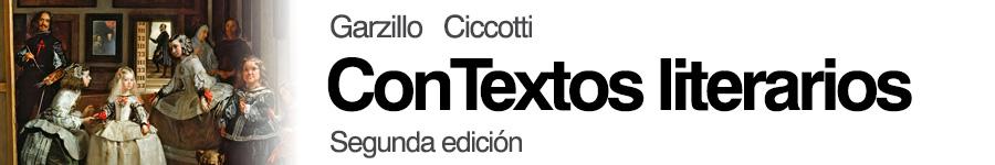 Garzillo Ciccotti, Contextos Literarios Segunda Edición