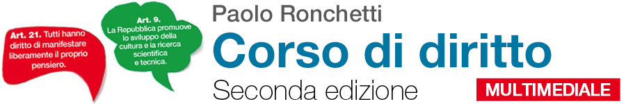 libro2 Paolo Ronchetti, Corso di diritto