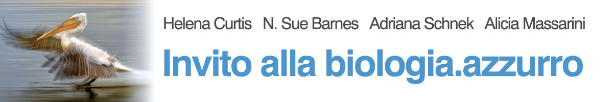 libro0 Curtis, Barnes, Schneck, Massarini, Invito alla biologia.azzurro