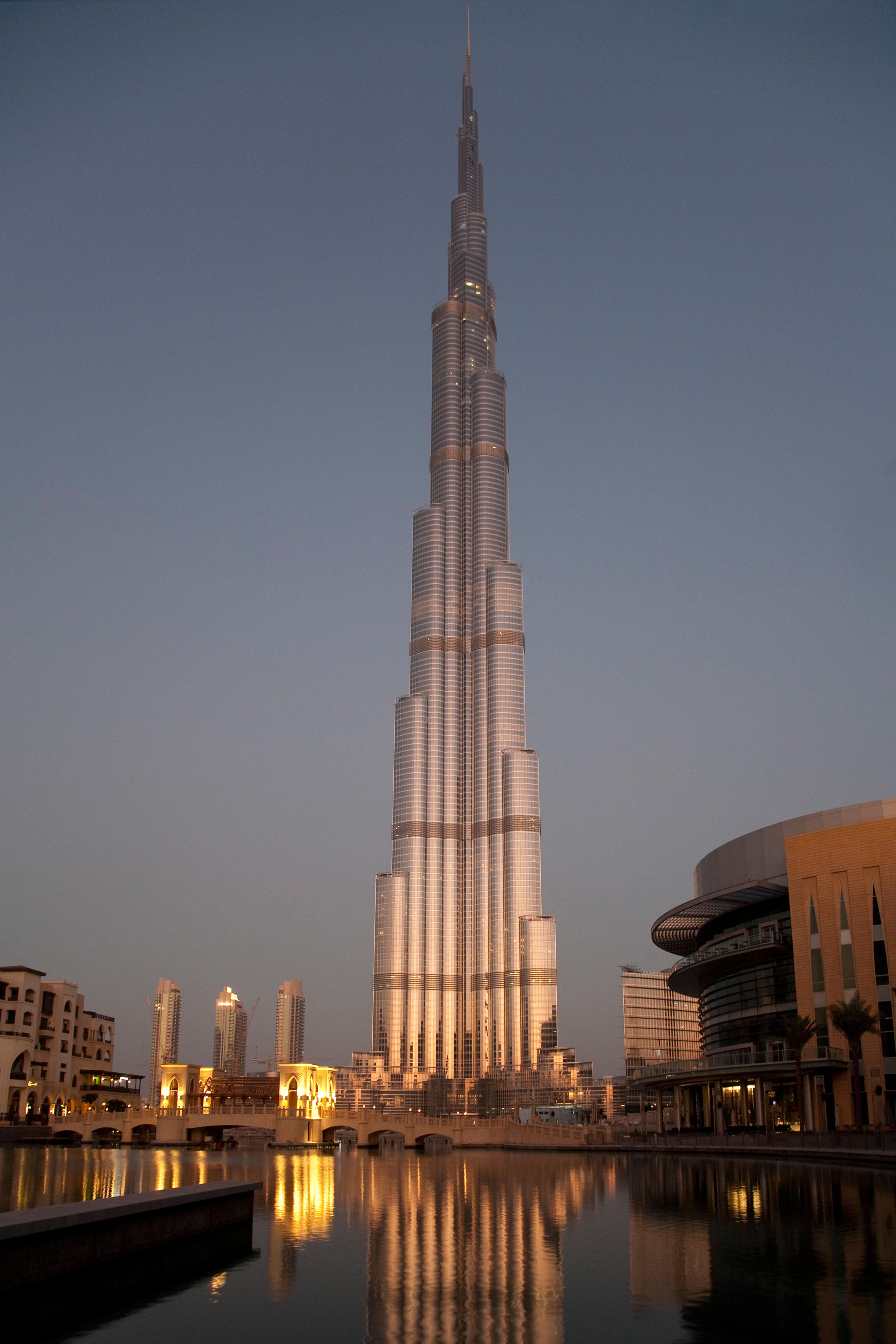 A dubai il grattacielo pi alto del mondo 828 metri - Dubai grattacielo piu alto ...