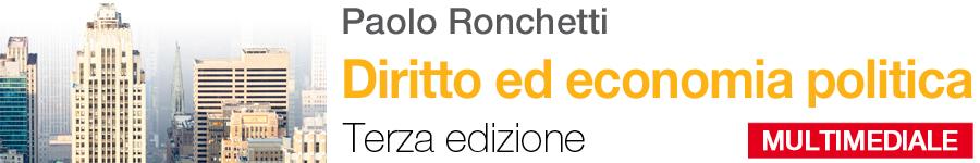 libro0 Ronchetti, Diritto ed economia politica - Terza edizione