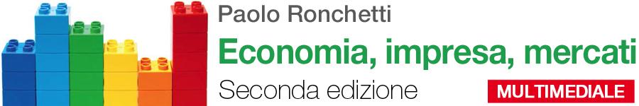 libro2 Paolo Ronchetti, Economia, impresa, mercati