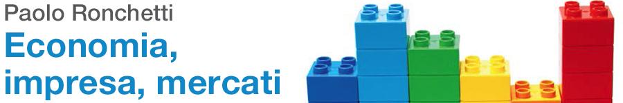 libro0 Paolo Ronchetti, Economia, impresa, mercati