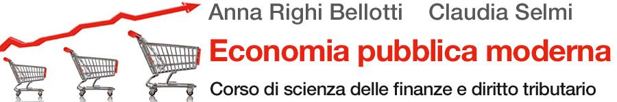 libro0 Anna Righi Bellotti, Claudia Selmi, Economia pubblica moderna