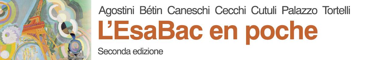 libro0 Agostini Bétin Caneschi Cecchi Cutuli Palazzo Tortelli, L'EsaBac en poche