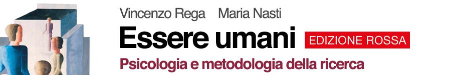 libro1 V. Rega, M. Nasti, B. Abbondanza, A. Carloni, Essere umani edizione rossa