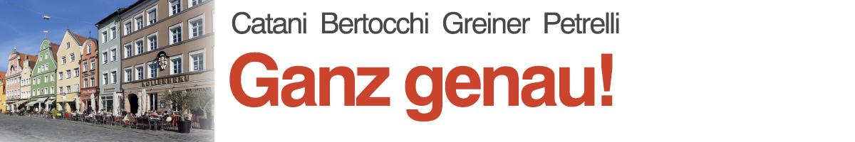 libro1 Catani, Bertocchi, Greiner, Pedrelli, Ganz genau!