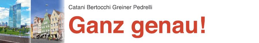 libro0 Catani, Bertocchi, Greiner, Pedrelli, Ganz genau!