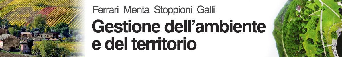 Ferrari Menta Stoppioni Galli, Gestione dell'ambiente e del territorio