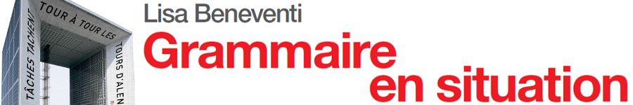 libro0 Beneventi, Grammaire en situation