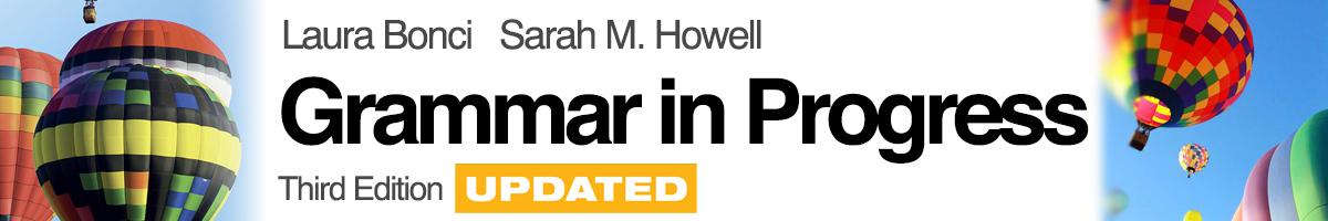 libro0 Bonci, Howell , Grammar in Progress -Third Edition UPDATED