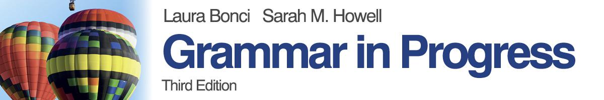 libro0 Bonci, Howell, Grammar in Progress - Third Edition