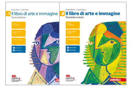 Il libro di arte e immagine A e B