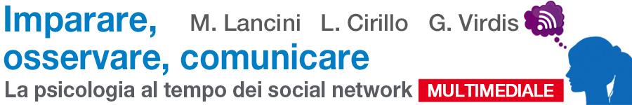 libro1 Matteo Lancini, Loredana Cirillo, Giuseppe Virdis, Imparare, osservare, comunicare