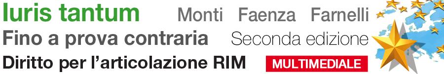 libro2 Monti, Faenza, Farnelli, Iuris tantum. Fino a prova contraria - Seconda edizione