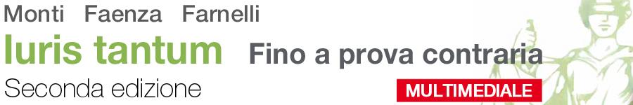 libro0 Monti, Faenza, Farnelli, Iuris tantum. Fino a prova contraria - Seconda edizione