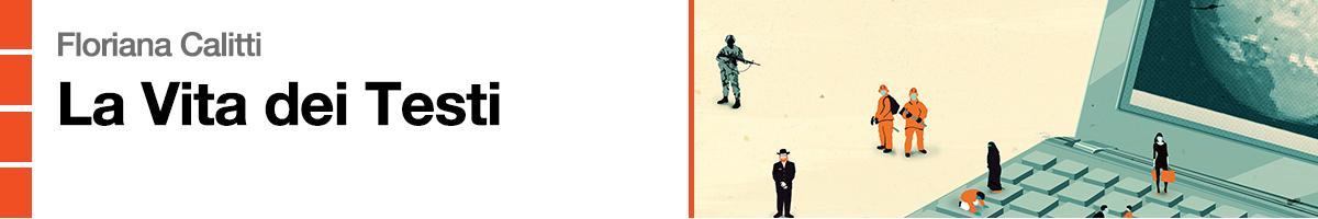 libro0 Floriana Calitti , La vita dei Testi