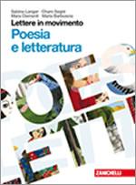Copertina Lettere in movimento - Poesia Letteratura