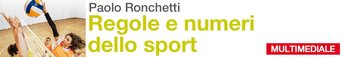 libro0 Paolo Ronchetti, Regole e numeri dello sport
