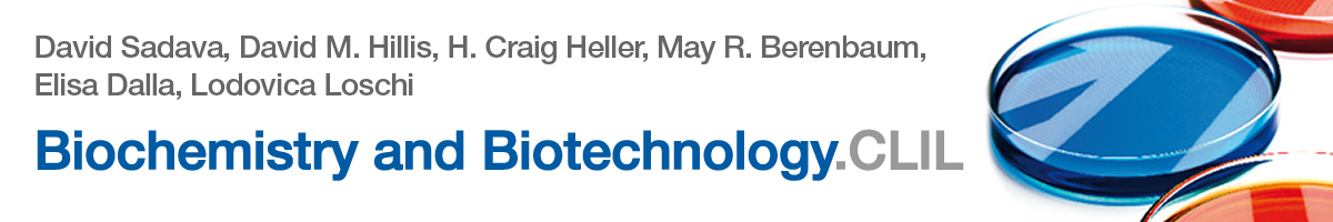 libro2 Risorse online per i testi Zanichelli, Biochemistry & Biotechnology