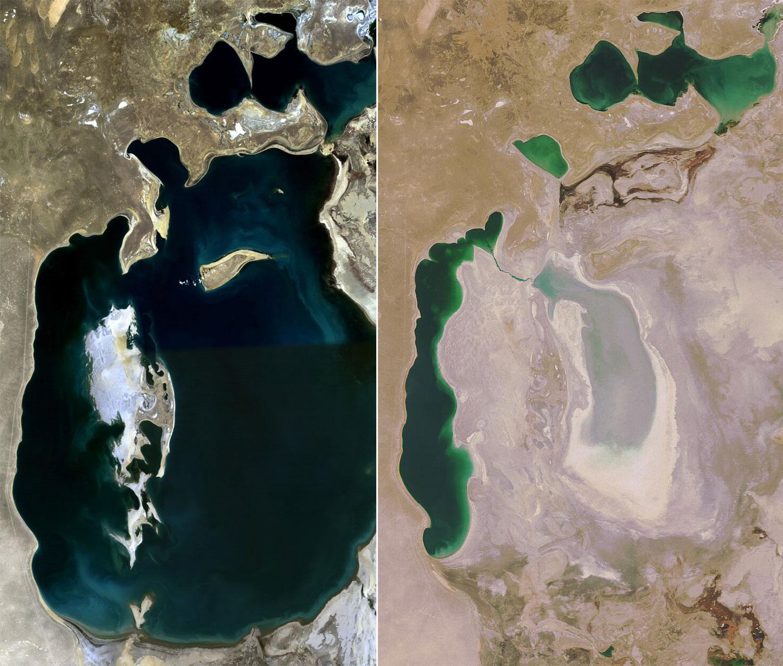 Lago Aral 1989-2008