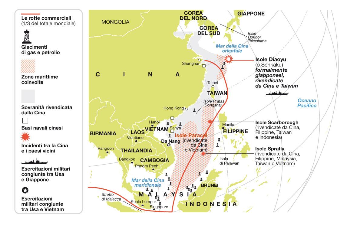 Cartina Mondo Vietnam