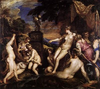 Tiziano - Diana e Callisto