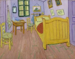 Van Gogh - La camere di Vincent ad Arles