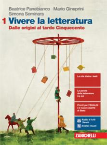 Panebianco, Gineprini, Seminara - Vivere la letteratura - Edizione in 3 volumi